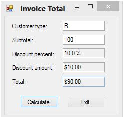 Invoice Draft Word C Code Receipts And Payments Account Format Excel with Print A Receipt Free Excel Invoice Total Note No Protection Against Bad Numeric Input Note Some  Conditions Use Relational And Logical Operators Return To Target Without Receipt Pdf